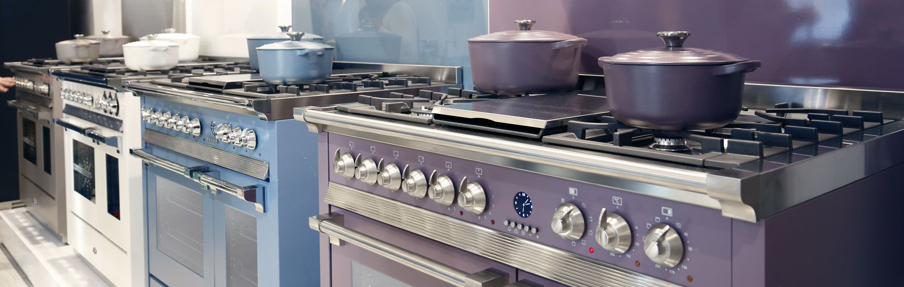 Range Cookers – Steel Cucine
