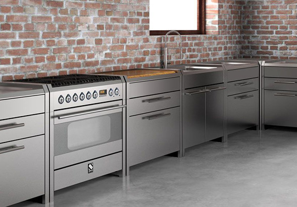 Steel Cucine in acciaio inox 100% Made in Italy – Steel Cucine